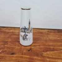 Blumenvase aus den 50er Jahren - Winterling Porzellan mit Venedig Motiv Bild 1