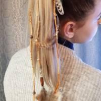 Dreadwrap Zierdread, Haar, Wrap, Dreadlocks, Goa, Extension, Dread, Dreadloks, Strähne, flechten, Haarverlängerung Zopf, Bild 1