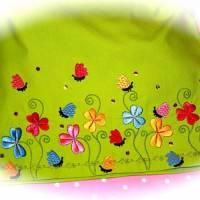 Blumen, Blüten, Schmetterlinge Stickdateien für den 10x10-Rahmen Bild 2