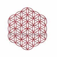 Blume des Lebens 6 Eck ohne Rand, Stickdateien für den 10x10-Rahmen Bild 2