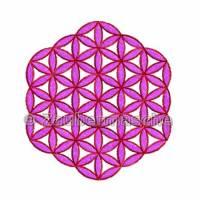 Blume des Lebens 6 Eck ohne Rand, Stickdateien für den 10x10-Rahmen Bild 3