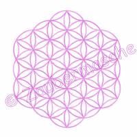Blume des Lebens 6 Eck ohne Rand, Stickdateien für den 13x18-Rahmen Bild 2