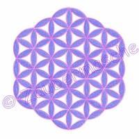 Blume des Lebens 6 Eck ohne Rand, Stickdateien für den 13x18-Rahmen Bild 3