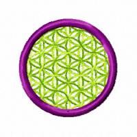 Blume des Lebens 5x5, Stickdateien für den 10x10-Rahmen Bild 3