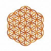 Blume des Lebens 5x5, Stickdateien für den 10x10-Rahmen Bild 4