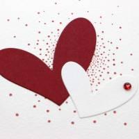 Liebeskarte, Karte zum Valentinstag, Grußkarte für deinen Herzensmensch Bild 2
