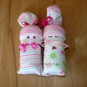 Windelbabys 'Girls', Mitbringsel zur Geburt Bild 1