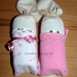 Windelbabys 'Girls', Mitbringsel zur Geburt Bild 2