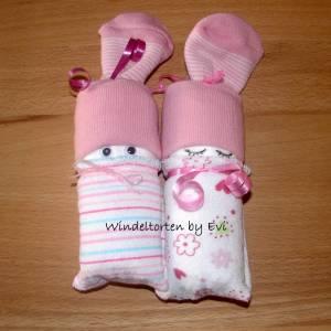 Windelbabys 'Girls', Mitbringsel zur Geburt Bild 4
