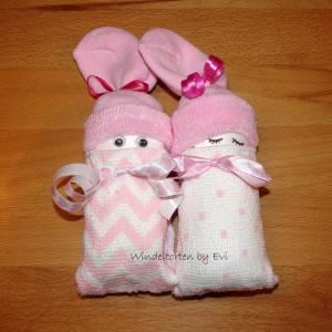 Windelbabys 'Girls', Mitbringsel zur Geburt Bild 6