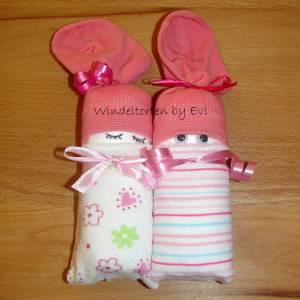 Windelbabys 'Girls', Mitbringsel zur Geburt Bild 9