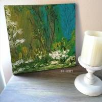 Acryl Gemälde abstrakt 30x30cm Bild 1