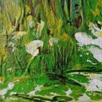 Acryl Gemälde abstrakt 30x30cm Bild 4