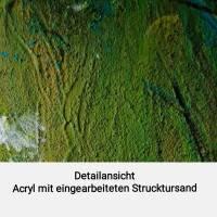 Acryl Gemälde abstrakt 30x30cm Bild 5