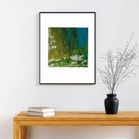Acryl Gemälde abstrakt 30x30cm Bild 6