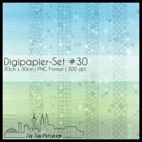 Digipapier Set #30 (himmelblau und grasgrün) zum ausdrucken, plotten, scrappen, basteln und mehr Bild 1