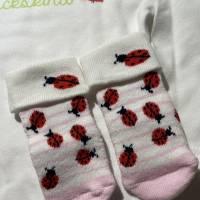 Windeltorte für Mädchen, Geschenk zur Geburt mit Body Bild 5