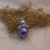 Schutzengel - Glücksbringer, flieder, lila Bild 1