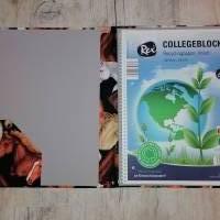 "Collegeblockhülle DIN A4 ""Pferdeköpfe"" incl. Block Bild 2"