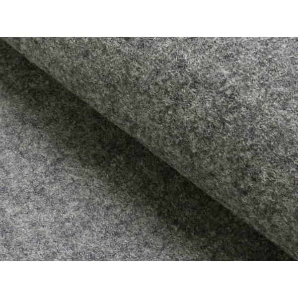 Wollwalk grau melliert  Bild 1