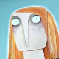 """Acrylbild """"Amrei Stankowiak wurde ein heftiger Bär aufgebunden"""" Gemälde lacaluna Bild 3"""