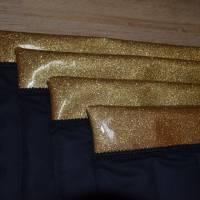 Bandagierunterlagen - 4er Set - Glitzergold - Gr. WB  Bild 3