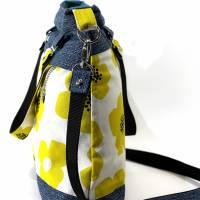 """Handtasche """"Frühlingsliebe"""" aus Baumwolle, Blumen Bild 3"""