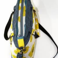 """Handtasche """"Frühlingsliebe"""" aus Baumwolle, Blumen Bild 4"""