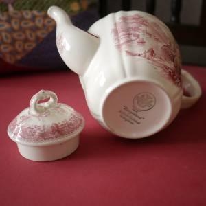 "Vintage Kaffeekanne ""Villeroy & Boch - Burgenland rot"" Bild 2"