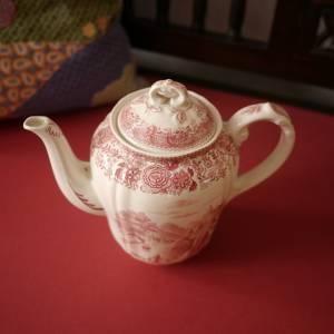 "Vintage Kaffeekanne ""Villeroy & Boch - Burgenland rot"" Bild 3"