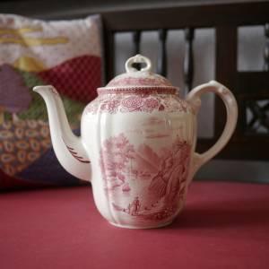 "Vintage Kaffeekanne ""Villeroy & Boch - Burgenland rot"" Bild 4"