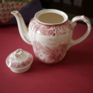"Vintage Kaffeekanne ""Villeroy & Boch - Burgenland rot"" Bild 5"