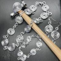 Schmuckset Lumaca Kette Armband Ohrringe Ring Statement Bild 2