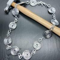 Schmuckset Lumaca Kette Armband Ohrringe Ring Statement Bild 3