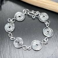 Schmuckset Lumaca Kette Armband Ohrringe Ring Statement Bild 4