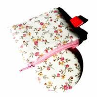 Taschenspiegel-Set *Streublümchen* ecru Bild 1