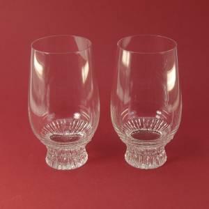 """2 wunderschöne Trinkglaser schön geschliffen """"Rosenthal"""" Bild 1"""