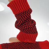 Beinstulpen/Wadenwärmer rot Bild 4