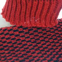 Beinstulpen/Wadenwärmer rot Bild 5