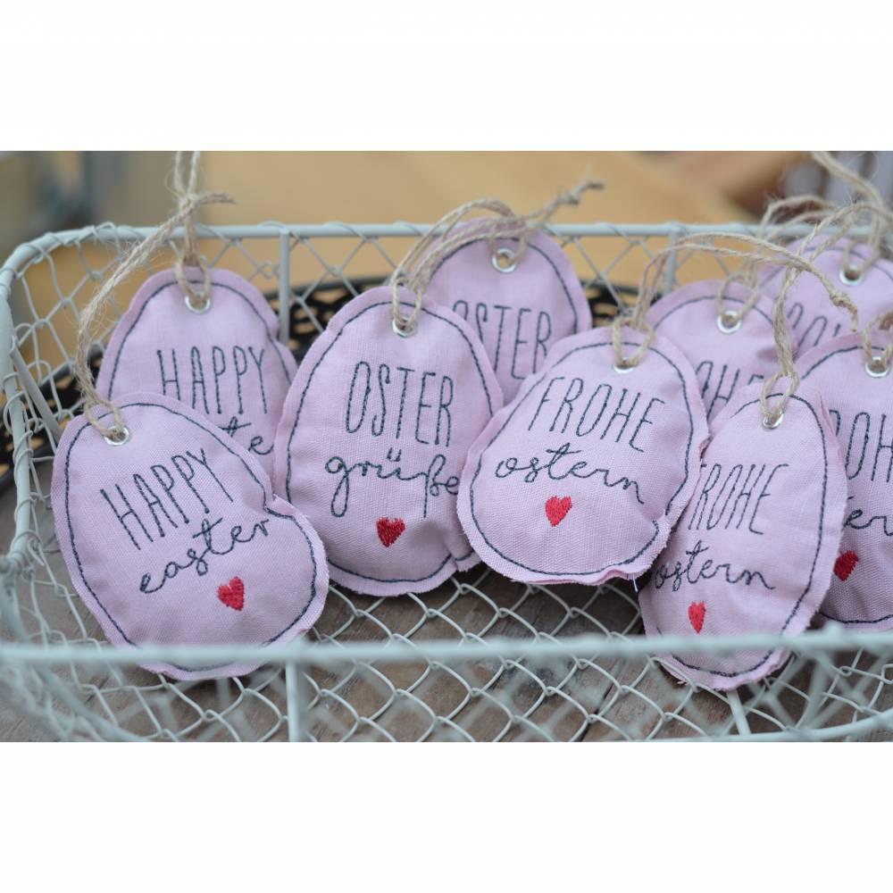 Eieranhänger  Ostern  Eier  Anhänger  verschiedene Designs   Bild 1