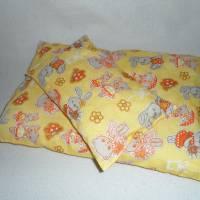 Puppenbettwäsche 2tlg., Bettdecke und Kissen Bild 1