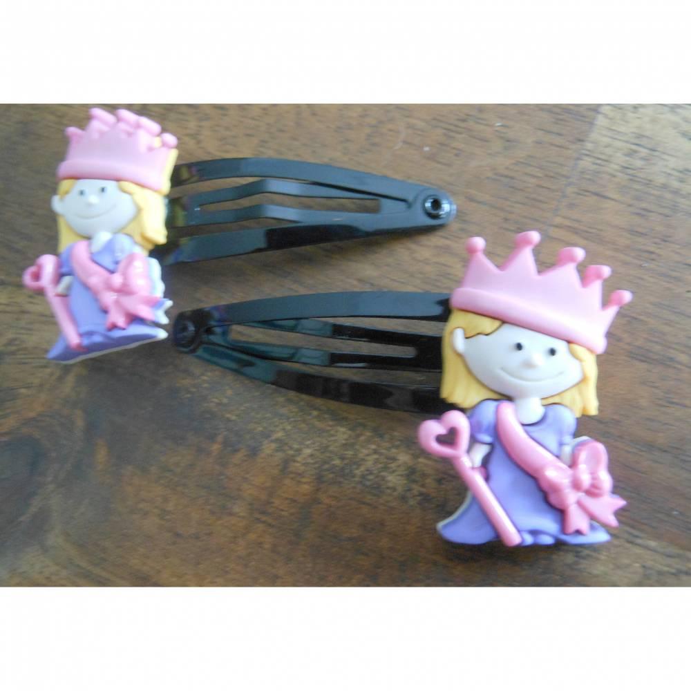 Prinzessin / Königin  Mädchen Haarschmuck   Haarspange Haarklammer Bild 1