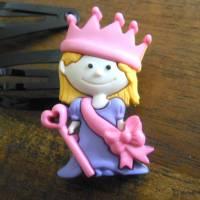 Prinzessin / Königin  Mädchen Haarschmuck   Haarspange Haarklammer Bild 2
