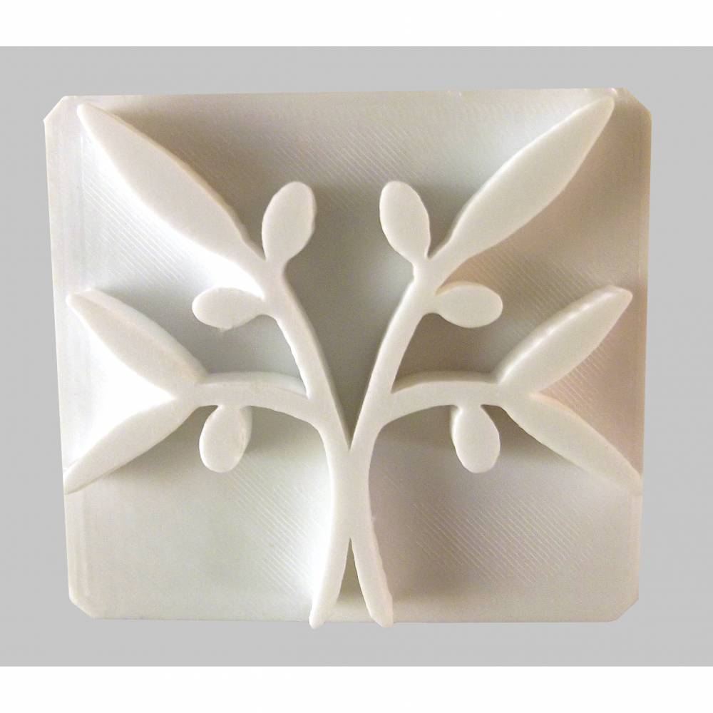 Olivenzweige Seifenstempel Bild 1