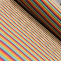 Ringelbündchen Multicolor bunt gestreift Bild 3