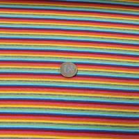 Ringelbündchen Multicolor bunt gestreift Bild 4