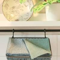 Unpaper Towel - die waschbare Küchenrolle! auch als Geschirrtuch, Spüllappen oder Serviette nutzbar - Zero waste - Mint Bild 7