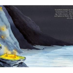 """Kinderbuch, """"Toddy der Radonör"""", ein Bilderbuch mit wunderschönen Illustrationen über eine Fahrrad-Reise Bild 4"""