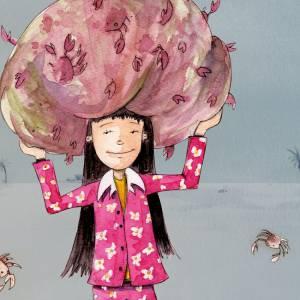 """Kinderbuch, """"Toddy der Radonör"""", ein Bilderbuch mit wunderschönen Illustrationen über eine Fahrrad-Reise Bild 6"""