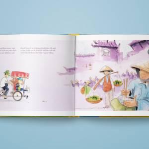 """Kinderbuch, """"Toddy der Radonör"""", ein Bilderbuch mit wunderschönen Illustrationen über eine Fahrrad-Reise Bild 7"""
